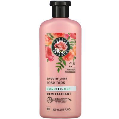 Купить Herbal Essences Smooth, Conditioner, Rose Hips, 13.5 fl oz (400 ml)