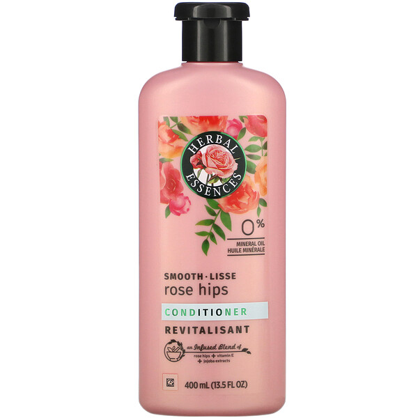 Smooth, Conditioner, Rose Hips, 13.5 fl oz (400 ml)