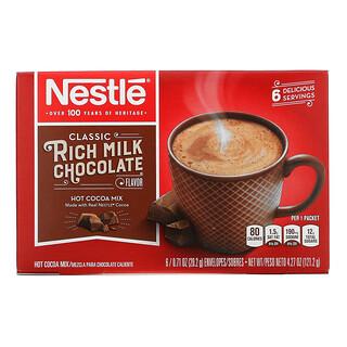 Nestle Hot Cocoa Mix, Rich Milk Schokoladengeschmack, 6 Pakete, je 20,2 g