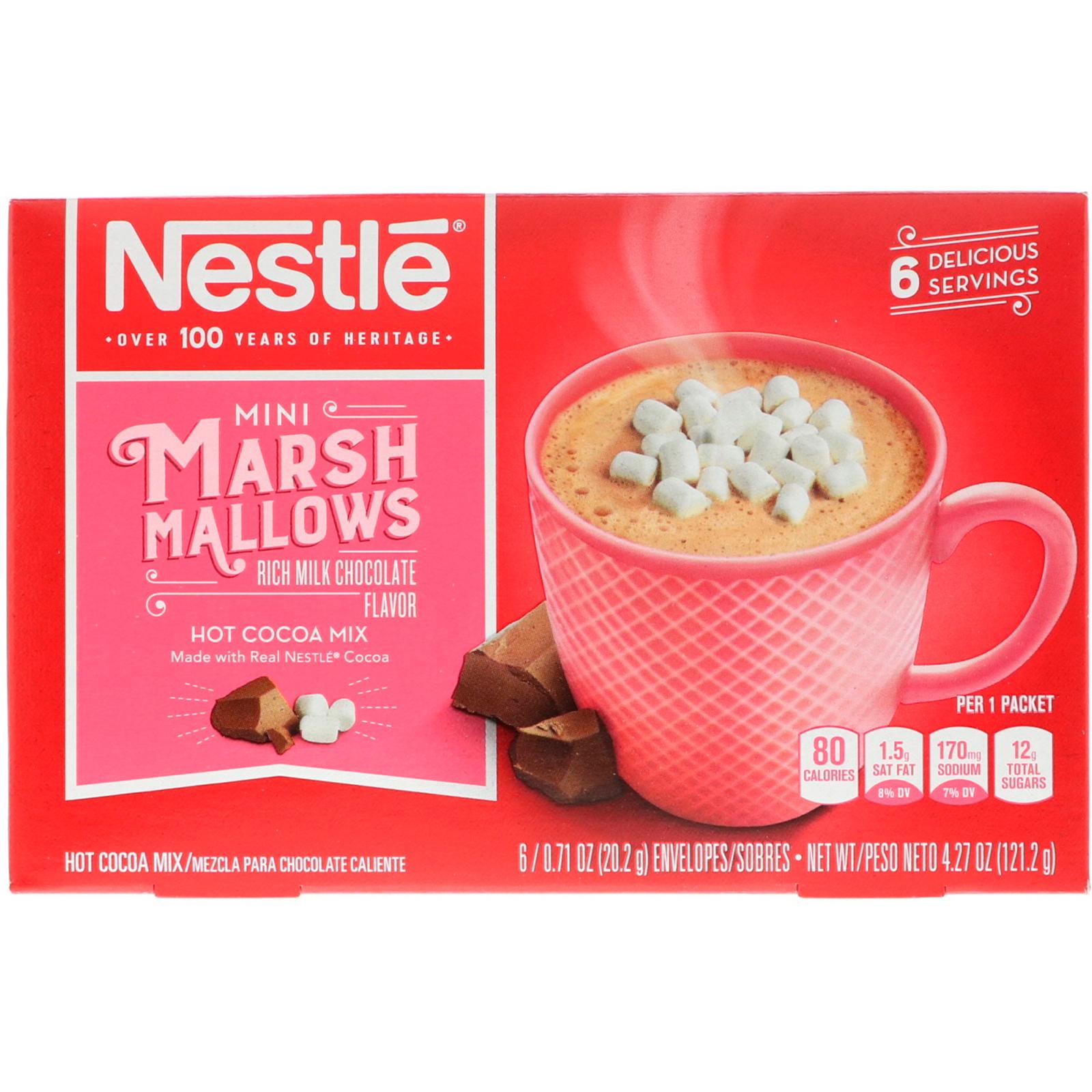 Nestle Hot Cocoa Mix, Mini Marshmallows, Rich Milk Chocolate