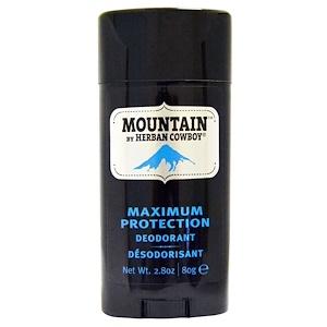 Хербан Ковбой, Maximum Protection Deodorant, Mountain, 2.8 oz (80 g) отзывы покупателей