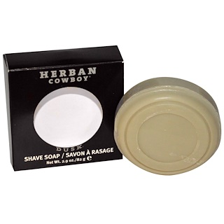 Herban Cowboy, Shave Soap, Dusk, 2.9 oz (82 g)