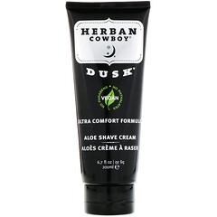 Herban Cowboy, 蘆薈剃須霜,黃昏,6.7 液量盎司(200 毫升)