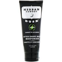 Herban Cowboy, 須後潤膚乳, 舒緩胡蘿蔔和黃瓜配方, 3.4液盎司(100毫升)