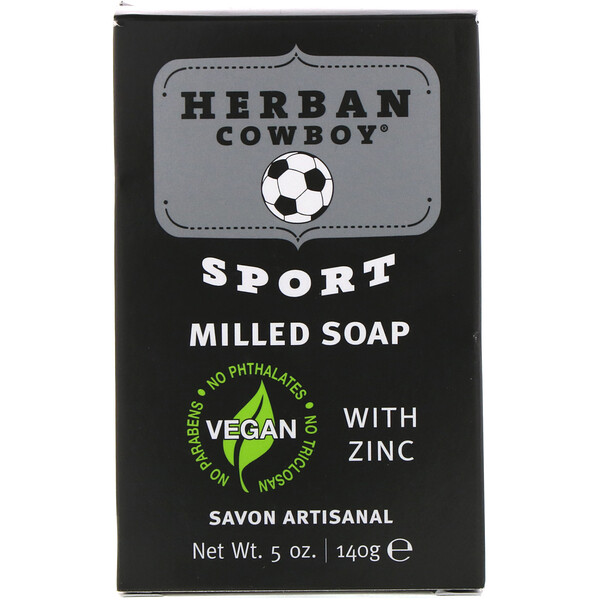 Milled Soap, Sport, 5 oz (140 g)