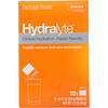 Hydralyte, Clinical Hydration, Electrolyte Powder, Orange, 10 packets 0.17 oz (4.9 g) Each