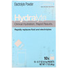 Hydralyte, Clinical Hydration, Electrolyte Powder, Lemonade, 10 packets 0.17 oz (4.9 g) Each