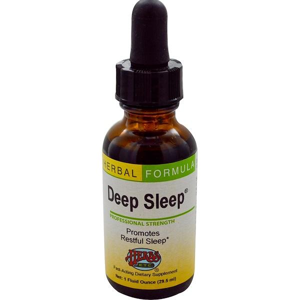 Herbs Etc., Deep Sleep, 1 fl oz (29.5 ml) (Discontinued Item)