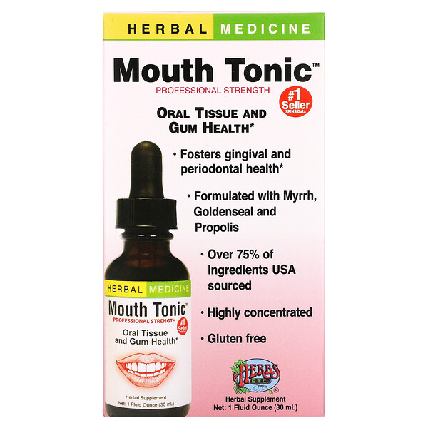 Herbs Etc., Mouth Tonic, 1 fl oz (30 ml)