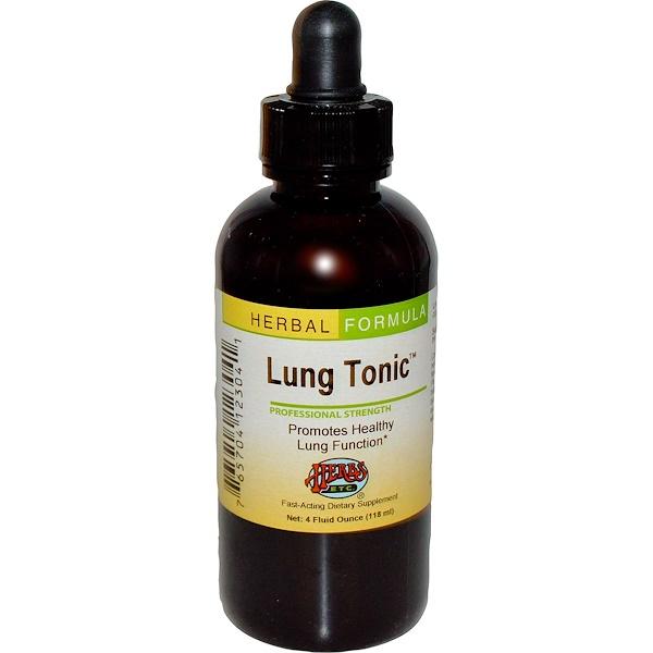 Herbs Etc., Тонизирующее средство для легких, 4 жидких унций (118 мл) (Discontinued Item)