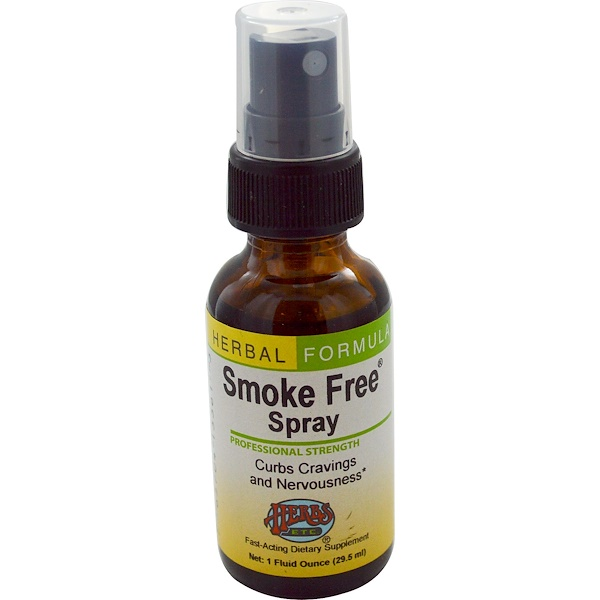 Herbs Etc., Smoke Free Spray, 1 fl oz (29.5 ml) (Discontinued Item)