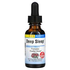 Herbs Etc., Deep Sleep, Alcohol Free, 1 fl oz (30 ml)