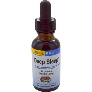 Herbs Etc., Deep Sleep, Alcohol Free, 1 fl oz (29.5 ml)
