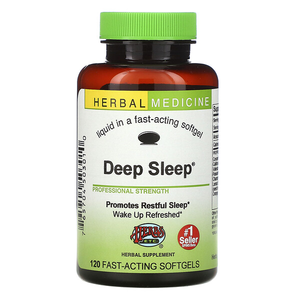 Deep Sleep, 120 Fast-Acting Softgels