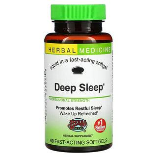Herbs Etc., Sueño profundo, 60 cápsulas blandas de rápida acción
