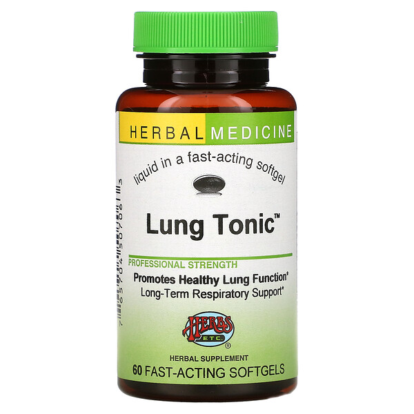 Lung Tonic, 60 Fast-Acting Softgels