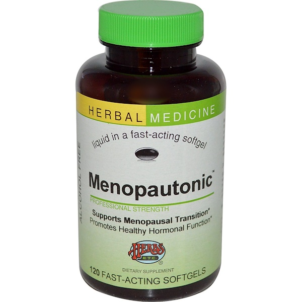 Herbs Etc., Menopautonic, Alcohol Free, 120 Fast-Acting Softgels (Discontinued Item)