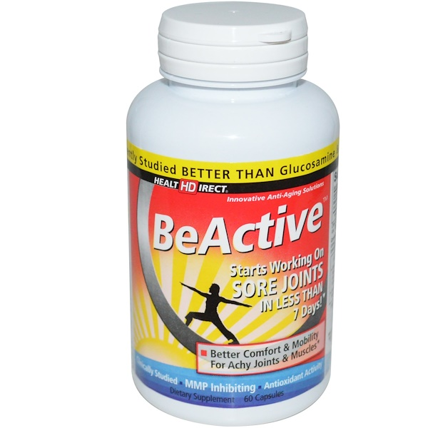 Health Direct, BeActive, For Achy Joints & Muscles, 60 Capsules (Discontinued Item)