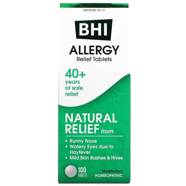 MediNatura, BHI, allergie, 100 comprimés