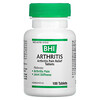 MediNatura, BHI, Arthritis, Pain Relief Tablets, 100 Tablets