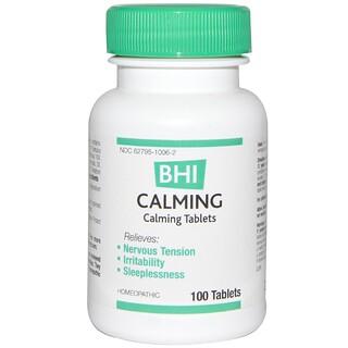 MediNatura, BHI, успокоительное средство, 100 таблеток