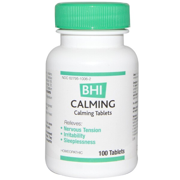 BHI, Calming, 100 Tablets