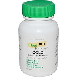 MediNatura, BHI, Cold, 100 Tablets