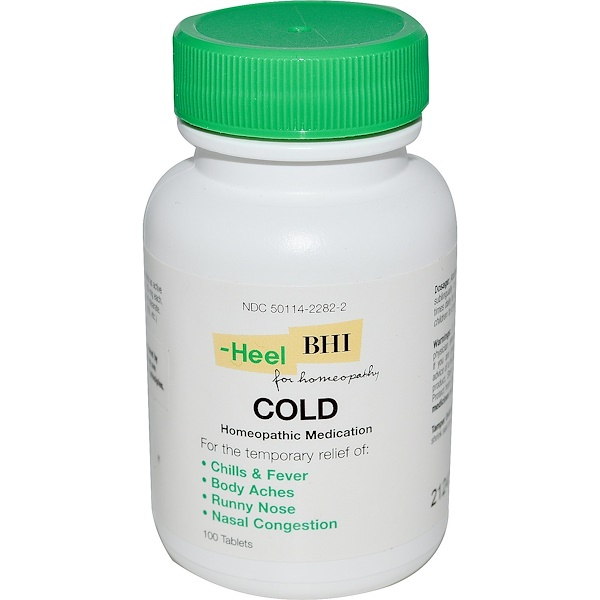 BHI, Cold, 100 Tablets