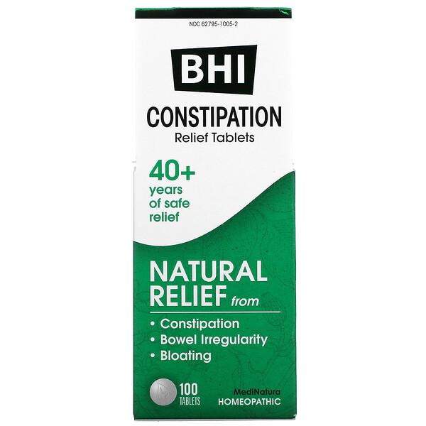 BHI, Constipation, 100 Tablets