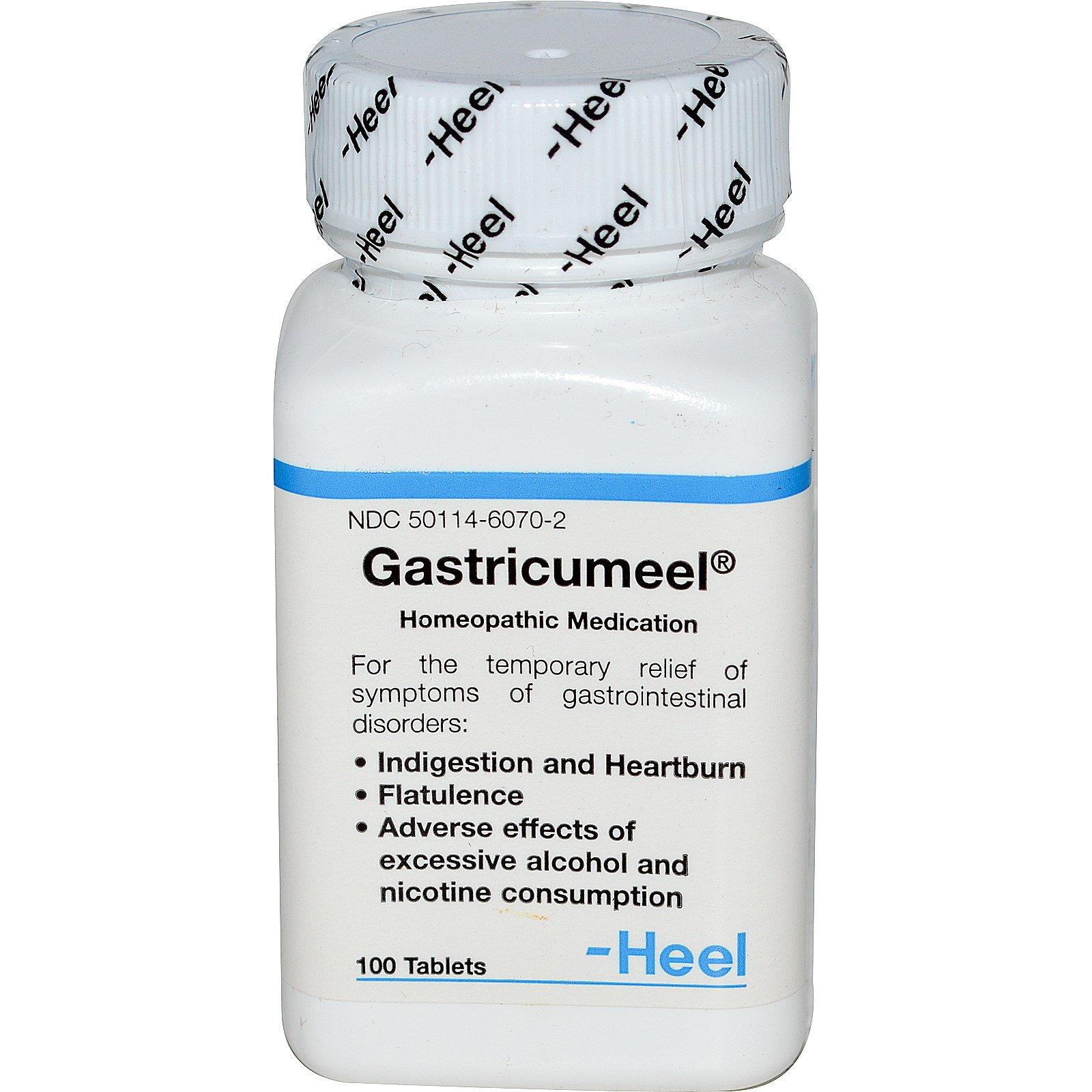 MediNatura, Gastricumeel, 100 Tablets (Discontinued Item)