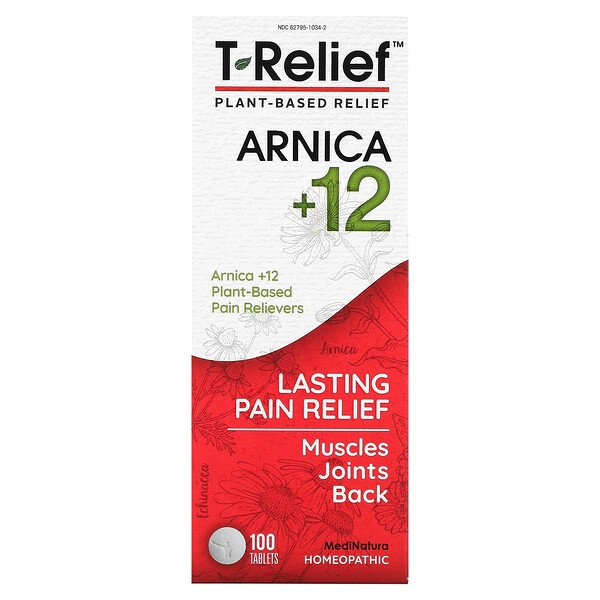 T-Relief, Arnica +12, 100 Tablets