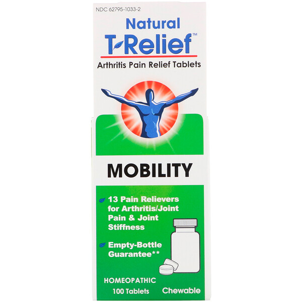 T-Relief, Arthritis Pain Relief, 100 Tablets