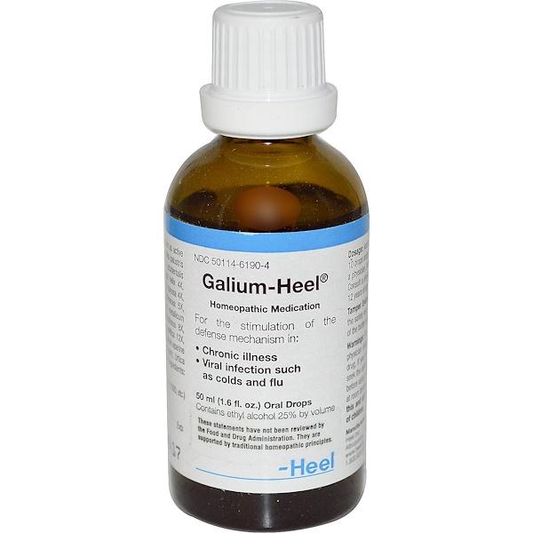 MediNatura, Galium-Heel, Oral Drops, 1.6 fl oz (50 ml) (Discontinued Item)