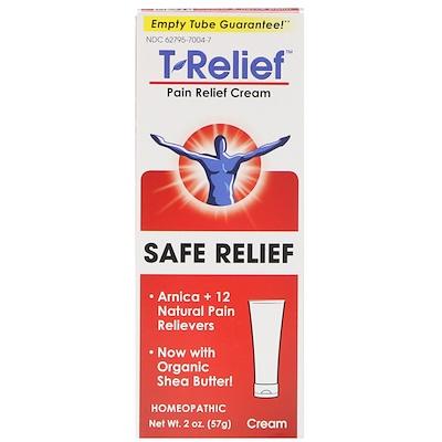 T-Relief, Pain Relief Cream, 2 oz (57 g)