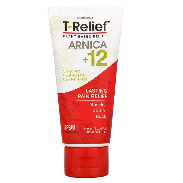 T-Relief, Arnica + 12 , Muscles, Joint, Back, 2 oz (57 g)