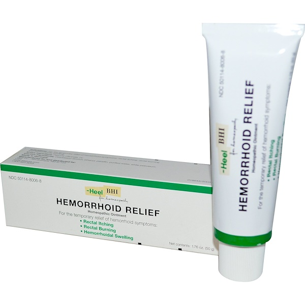 MediNatura, Hemorrhoid Relief, Homeopathic Ointment, 1.76 oz (50 g) (Discontinued Item)