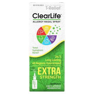 MediNatura, ClearLife, Allergy Nasal Spray, Extra Strength, 0.68 fl oz (20 ml)