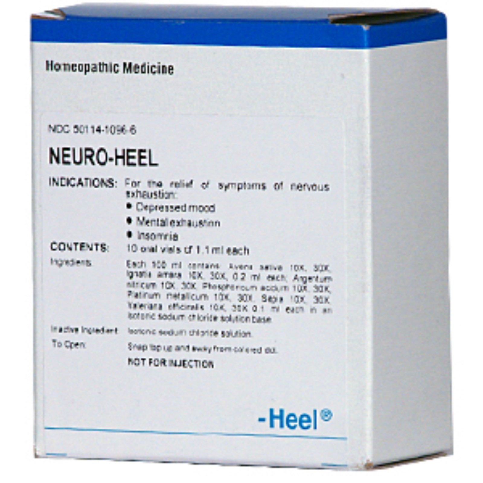 MediNatura, Neuro-Heel, 10 Oral Vials of 1 1 ml Each (Discontinued Item)