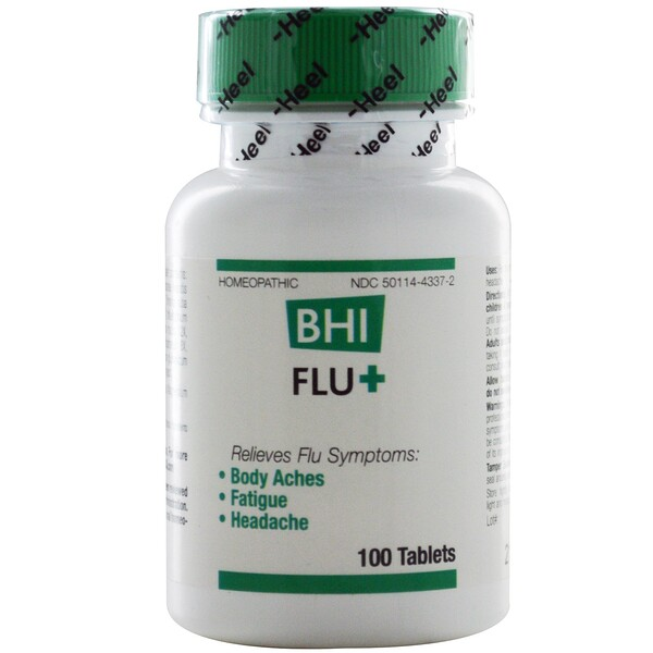 BHI Flu +, 100 Tablets