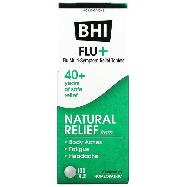 BHI Flu +, 100 Tablets