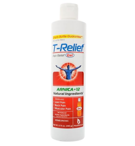 MediNatura, T-Relief, Pain Relief Gel, 8.75 oz (250 g)