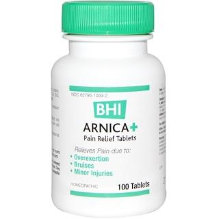 MediNatura, BHI, Arnica +, 100 Tablets