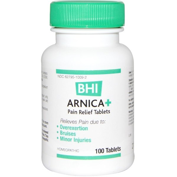 MediNatura, BHI, Arnica +, 100 Tablets