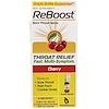 MediNatura, ReBoost, Sore Throat Spray, Cherry, 0.68 fl oz (20 ml) (Discontinued Item)
