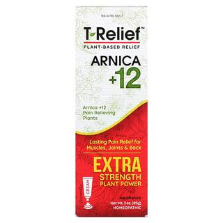 MediNatura, T-Relief, Arnica +12, Extra Strength, Chamomilla, 3 oz (85 g)