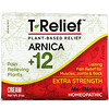 MediNatura, T-Relief, Plant-Based Extra Strength Pain Cream, 8 oz