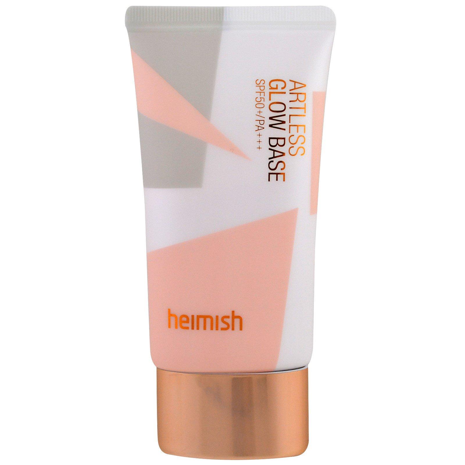 Heimish, без искусственных добавок, основа для румян, солнцезащитный фактор 50 +/фотоактивность +++, 40 мл