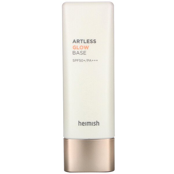 "Heimish, Artless Glow Base, מקדם הגנה 50+ PA+++, 40 מ""ל"