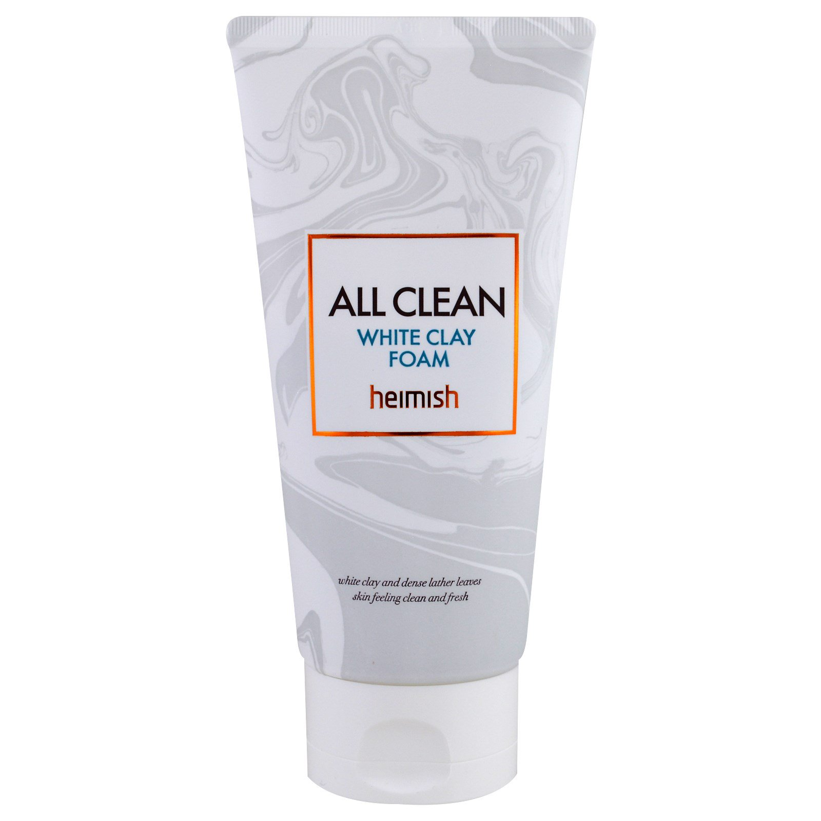 Heimish, All Clean, пенка с белой глиной, 150 г