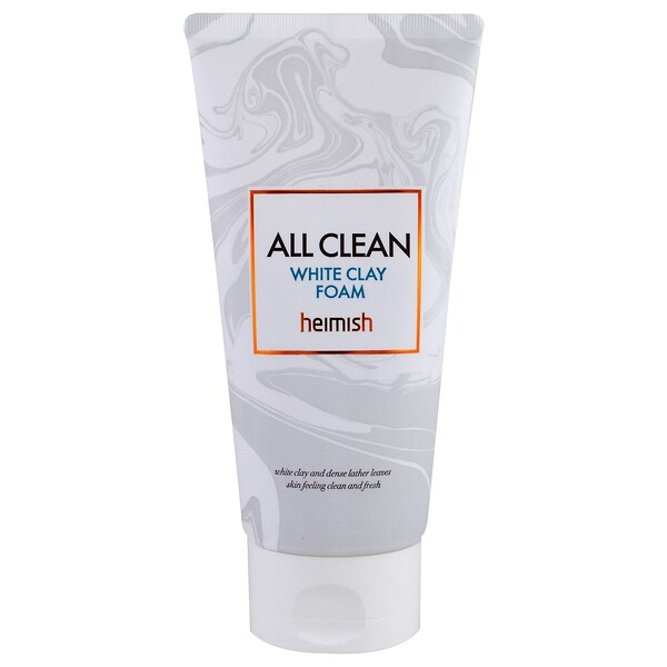 Heimish, All Clean, White Clay Foam, 150 g